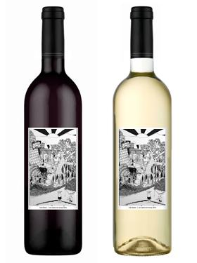Luis Cervantes Jurado Wine Bottles